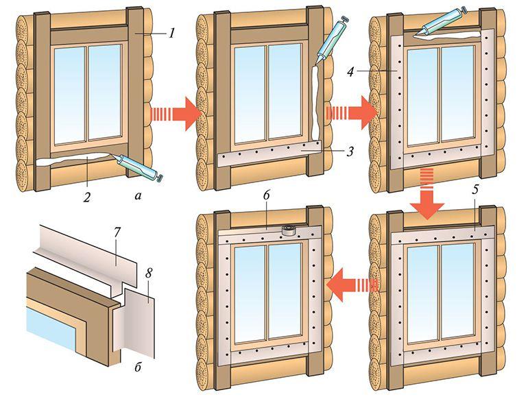 Как сделать наличники на окна своими руками