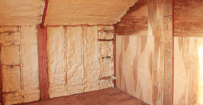 Материалы для утепления бани