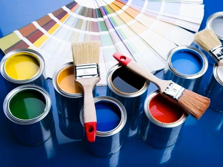 Выбор краски