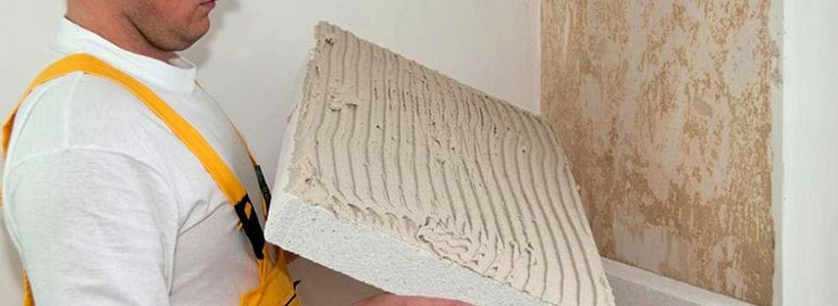 Утепление стен при помощи пенопласта